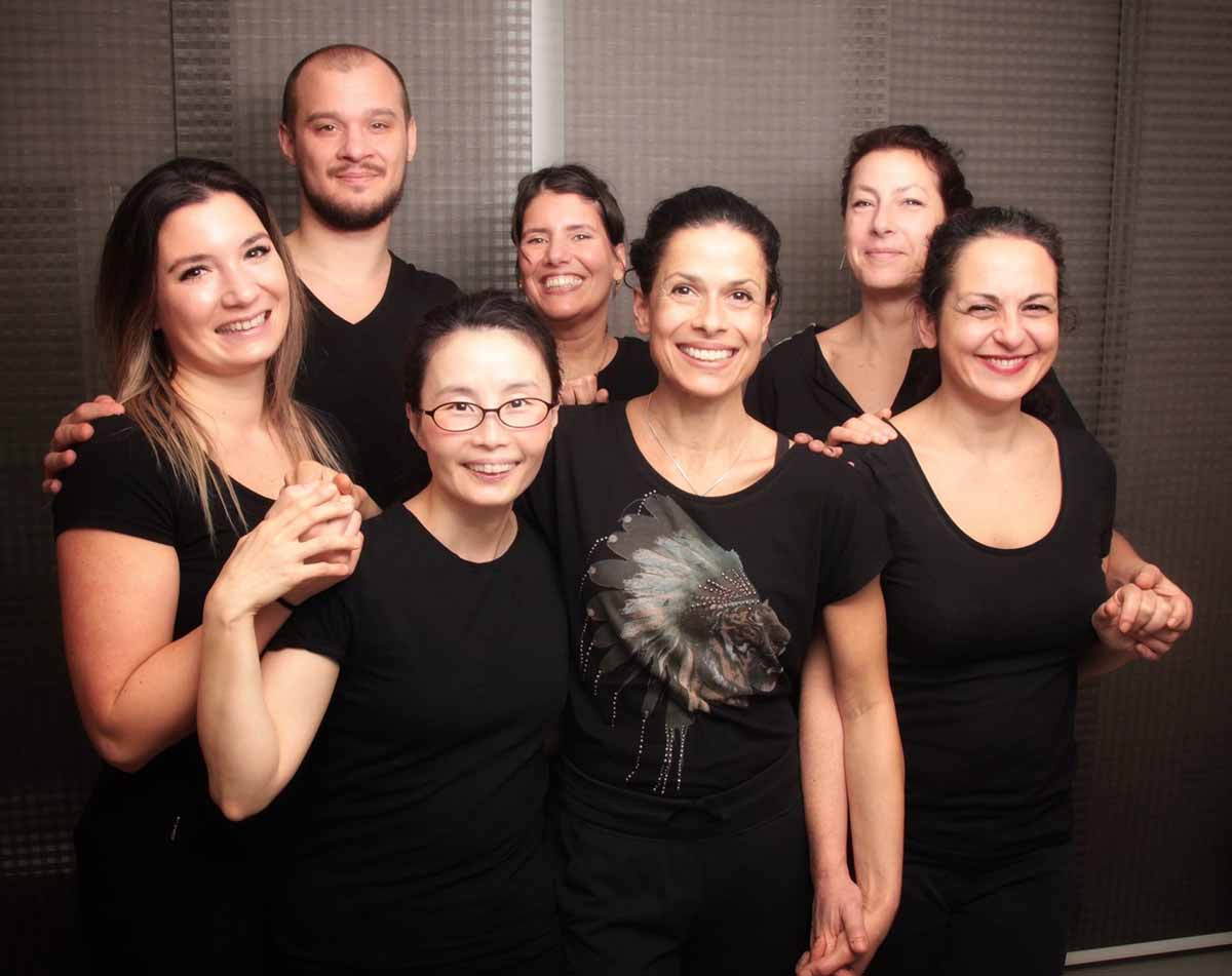 Our massage team, Arigato Amsterdam