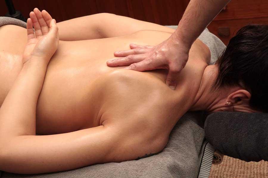 Rug nek schoudermassage deep tissue
