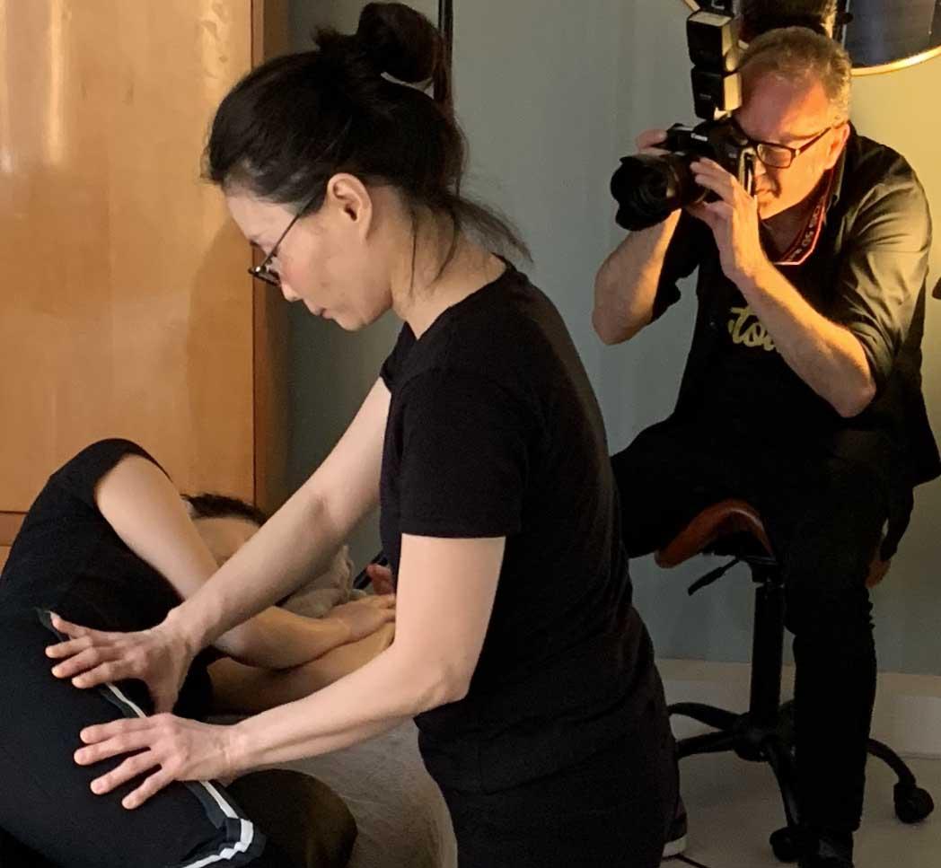 Shiatsu massage Amsterdam by Arigato